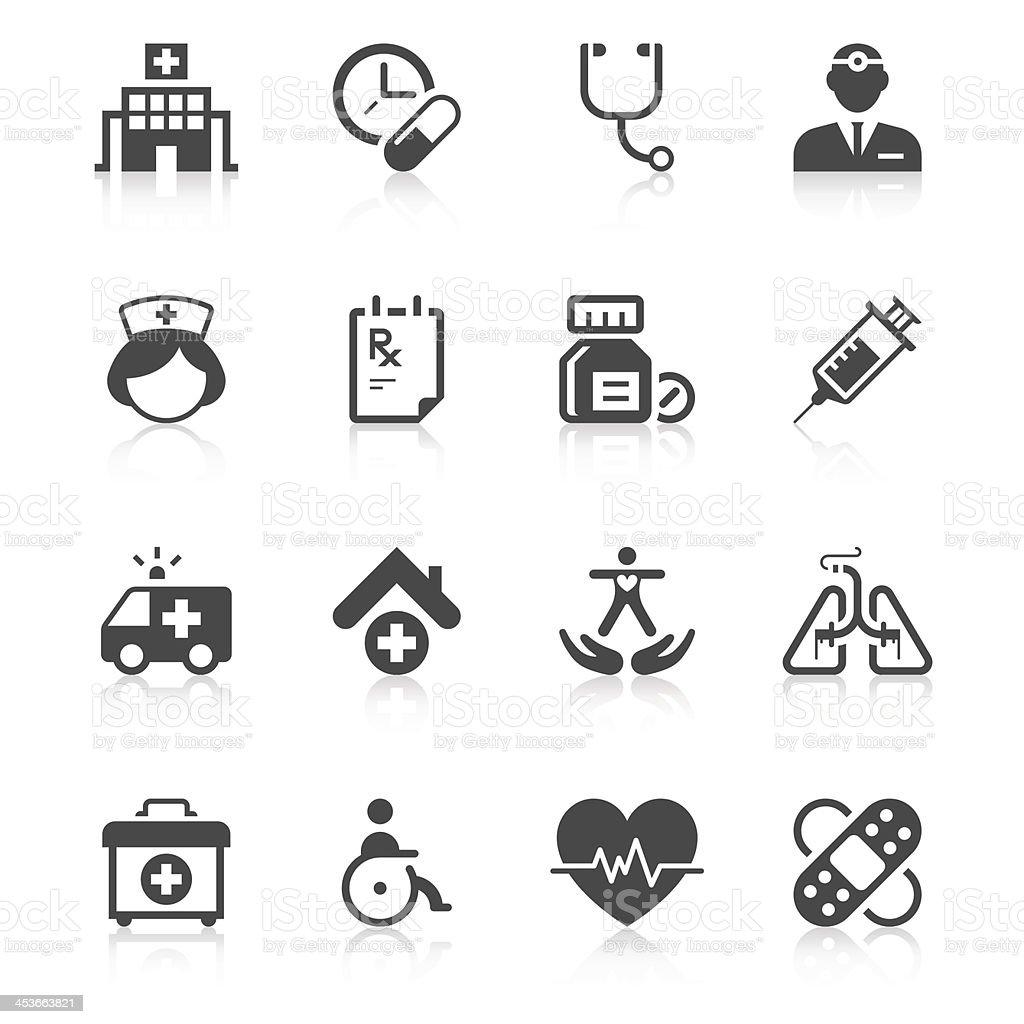 Medical Icon Set | Unique Series vector art illustration