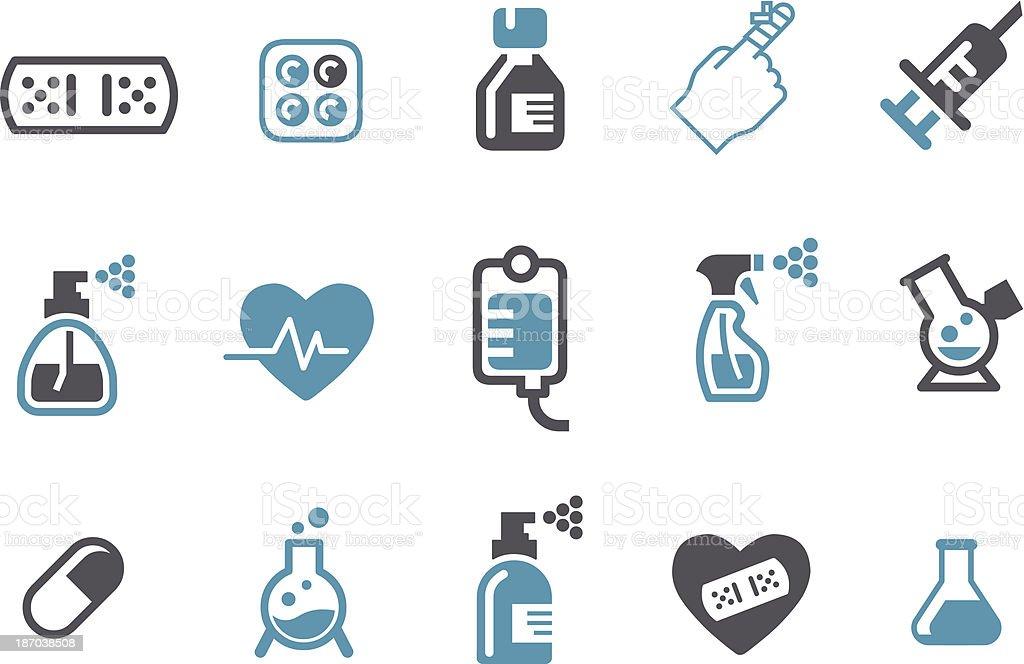 Medical Icon Set royalty-free stock vector art