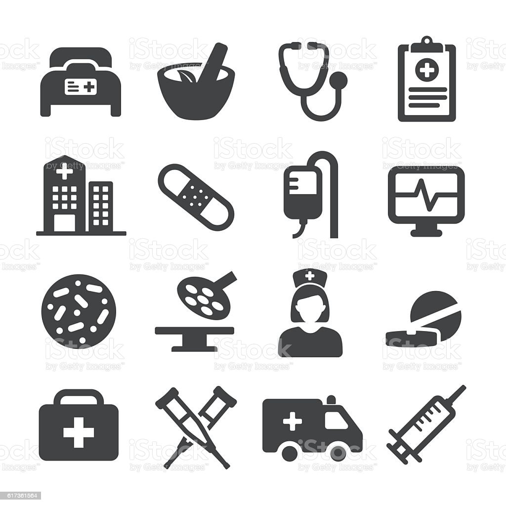 Medical Icons - Acme Series vector art illustration
