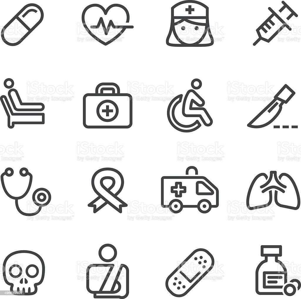 Medical Icons - Line Series vector art illustration