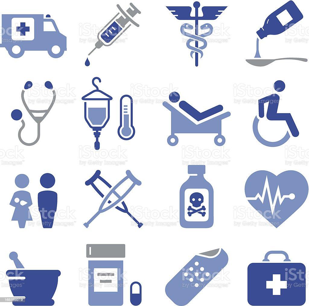 Medical Icons - Pro Series vector art illustration