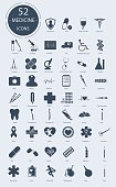 Medical icons. Vector elements