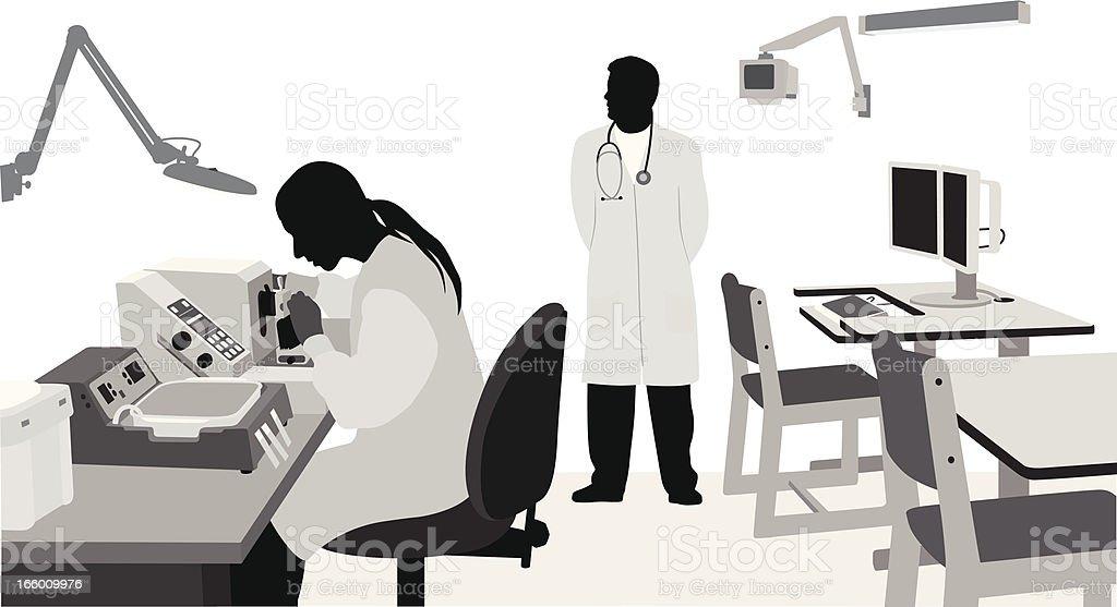 Medical Lab royalty-free stock vector art