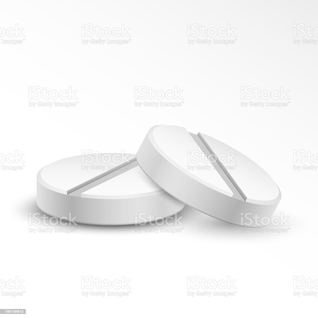 Medical Pill royalty-free stock vector art