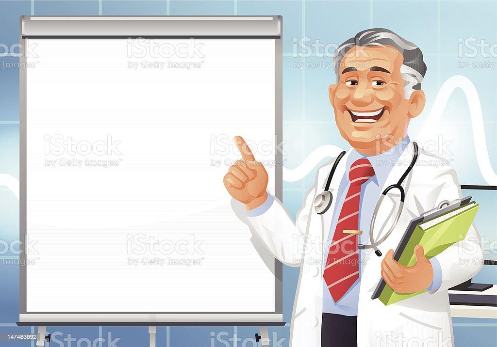 Medical Presentation royalty-free stock vector art