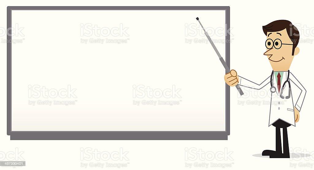 Medical Presentation vector art illustration
