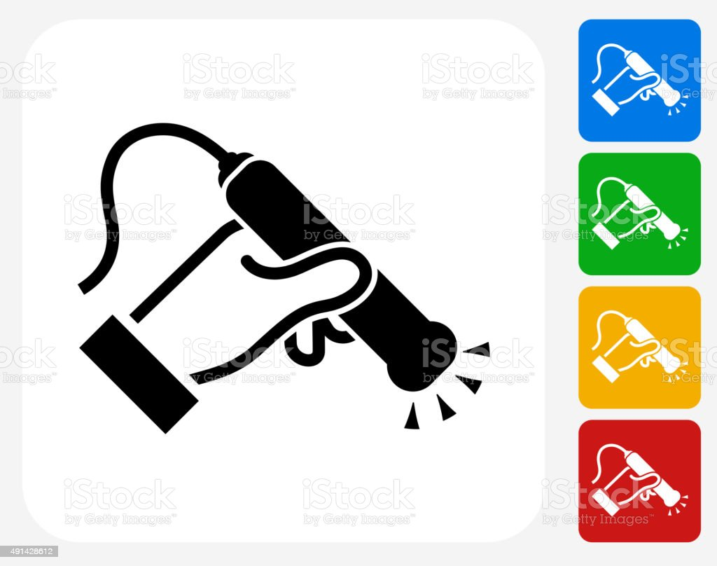 Medical Scan Icon Flat Graphic Design vector art illustration