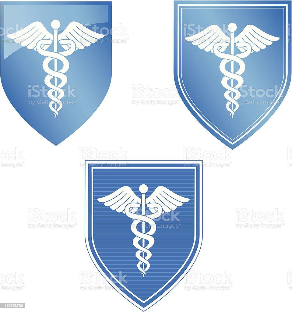 Medical Shield royalty-free stock vector art