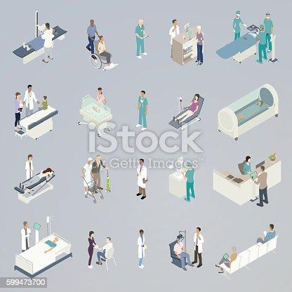 Medical Spot Illustrations