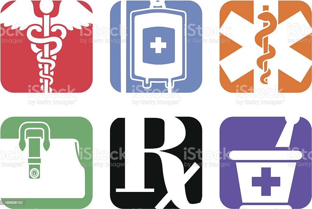 medical symbols royalty-free stock vector art