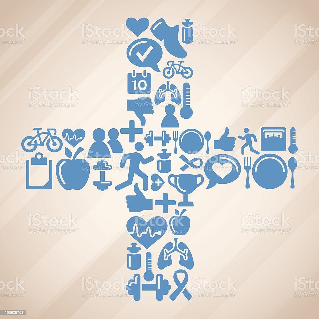 Medical Symbols royalty-free stock vector art