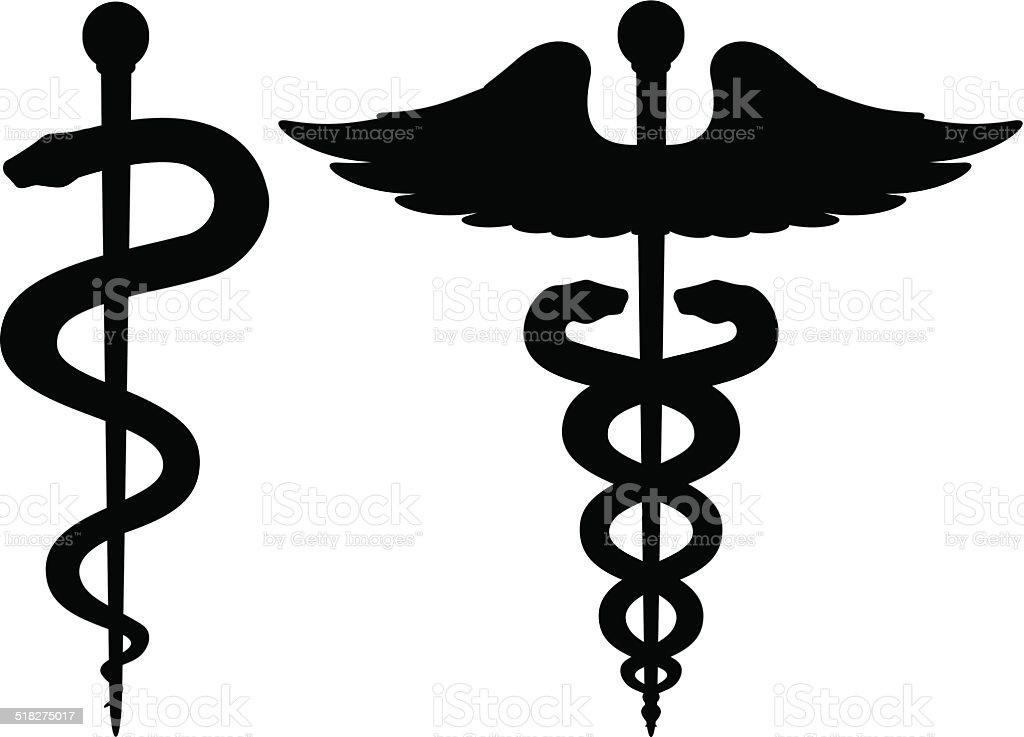 Medical Symbols vector art illustration