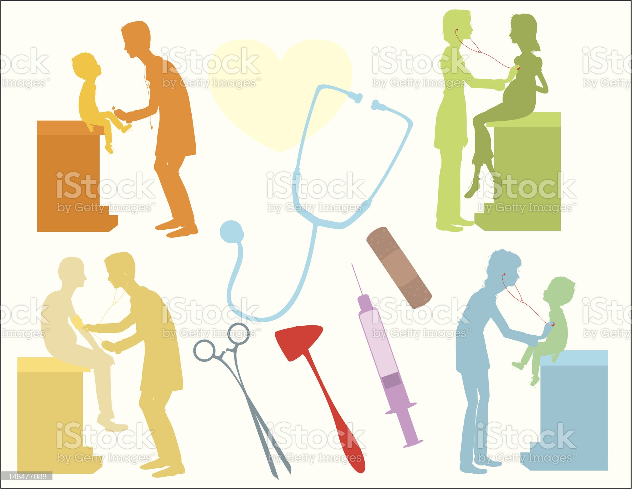 Medical Theme royalty-free stock vector art