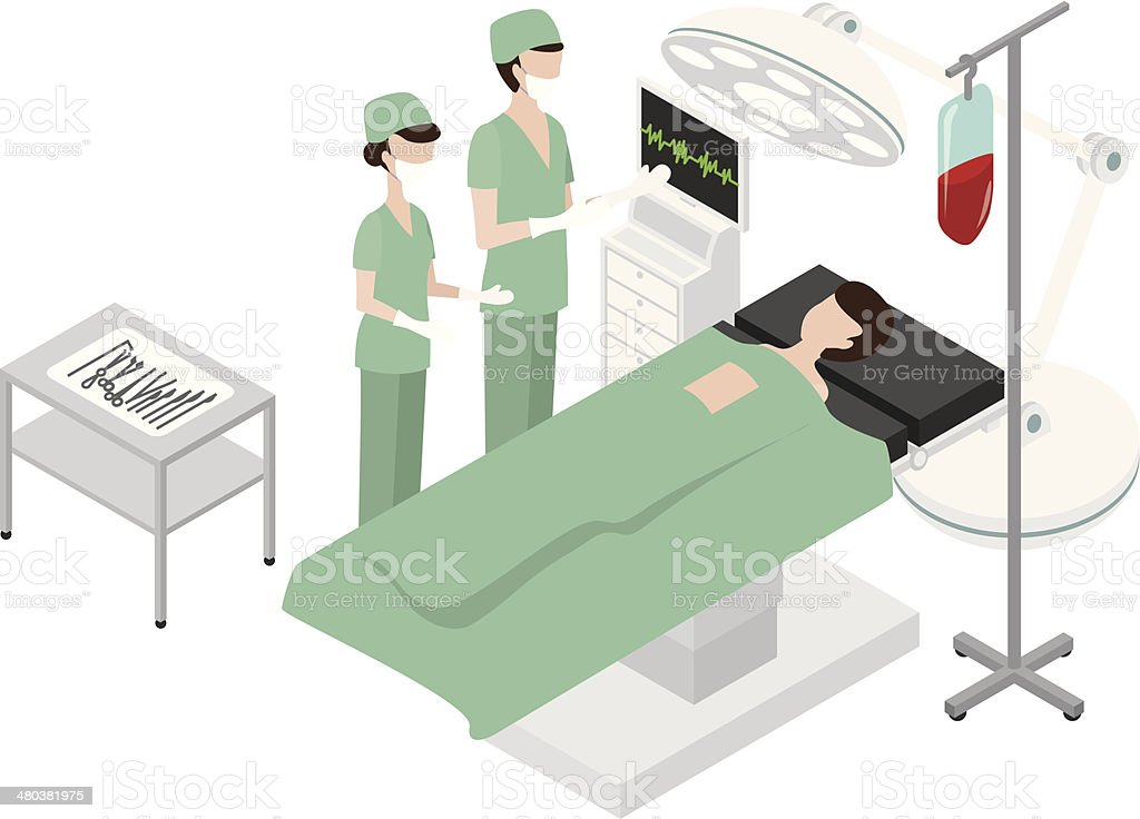 medical vector art illustration