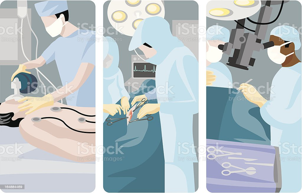 Medical Vector Illustrations Series royalty-free stock vector art
