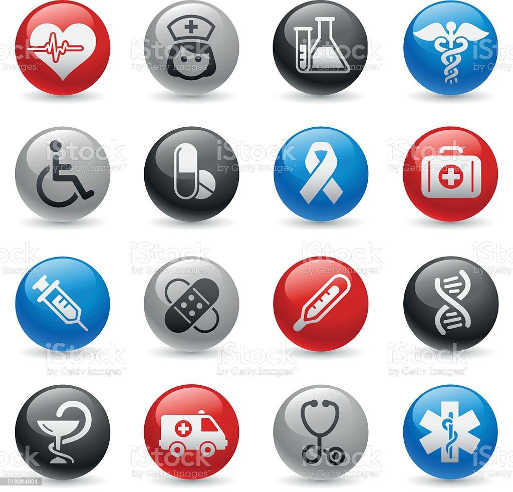 Medicine and Heath Care - Gel-Pro Series vector art illustration