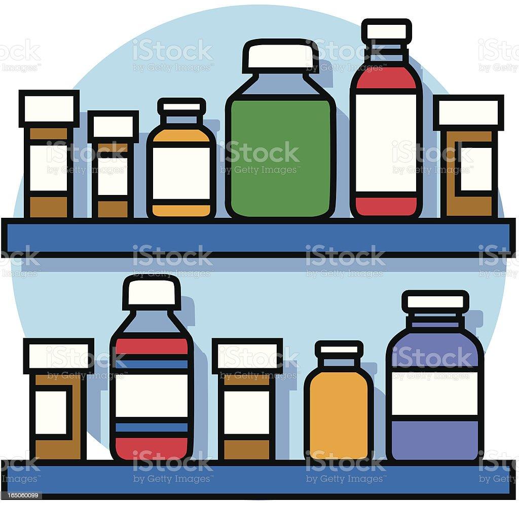 medicine cabinet icon royalty-free stock vector art