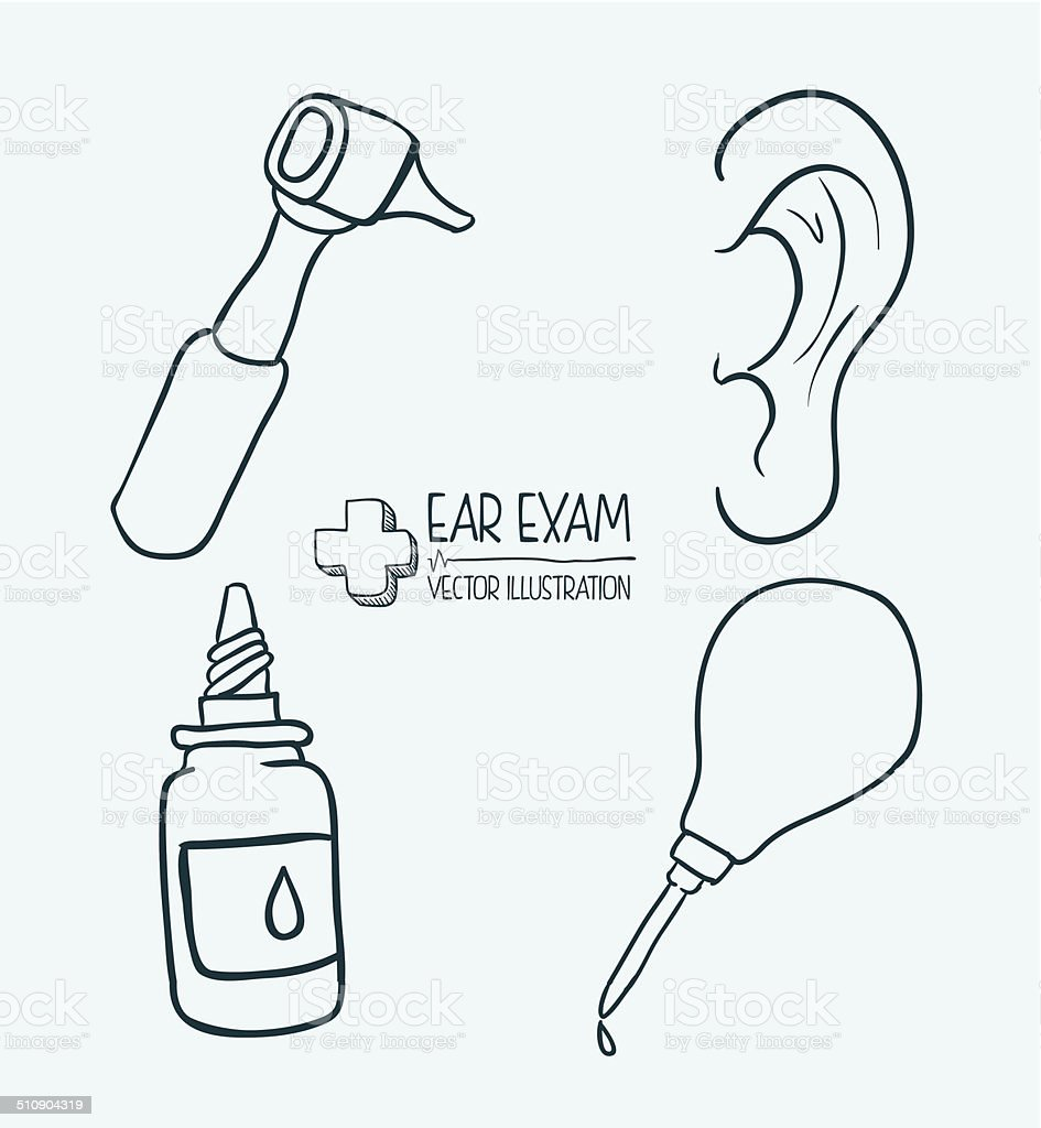 medicine design vector art illustration