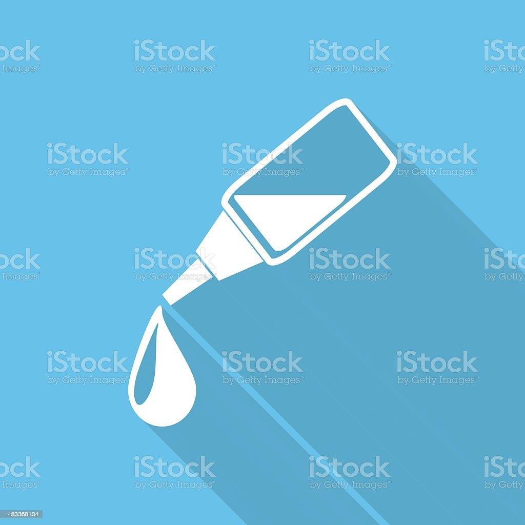 Medicine Dropper, Pipette, Pipette, Eyedropper, vector art illustration
