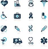Medicine & Healthcare Icons - Azure Series