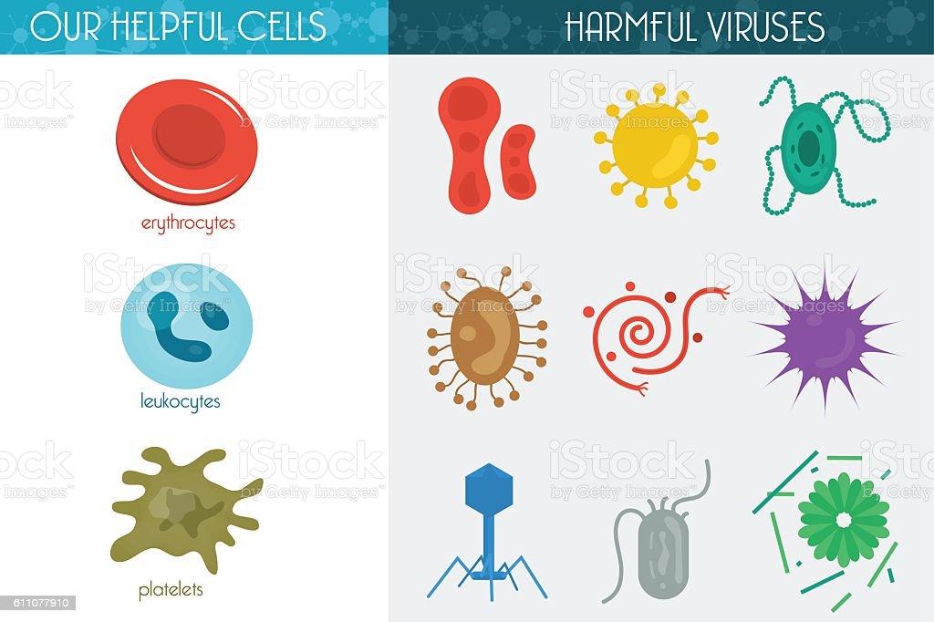 Medicine icon cell vector art illustration