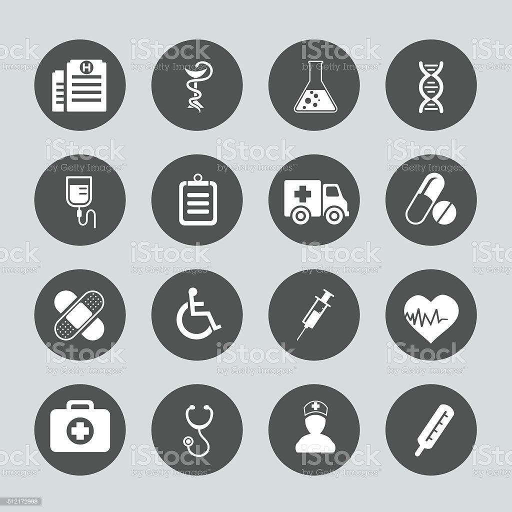 Medicine Icon vector art illustration