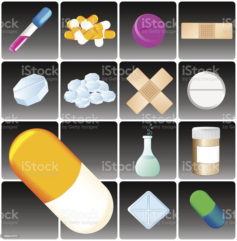 Medicine vector art illustration