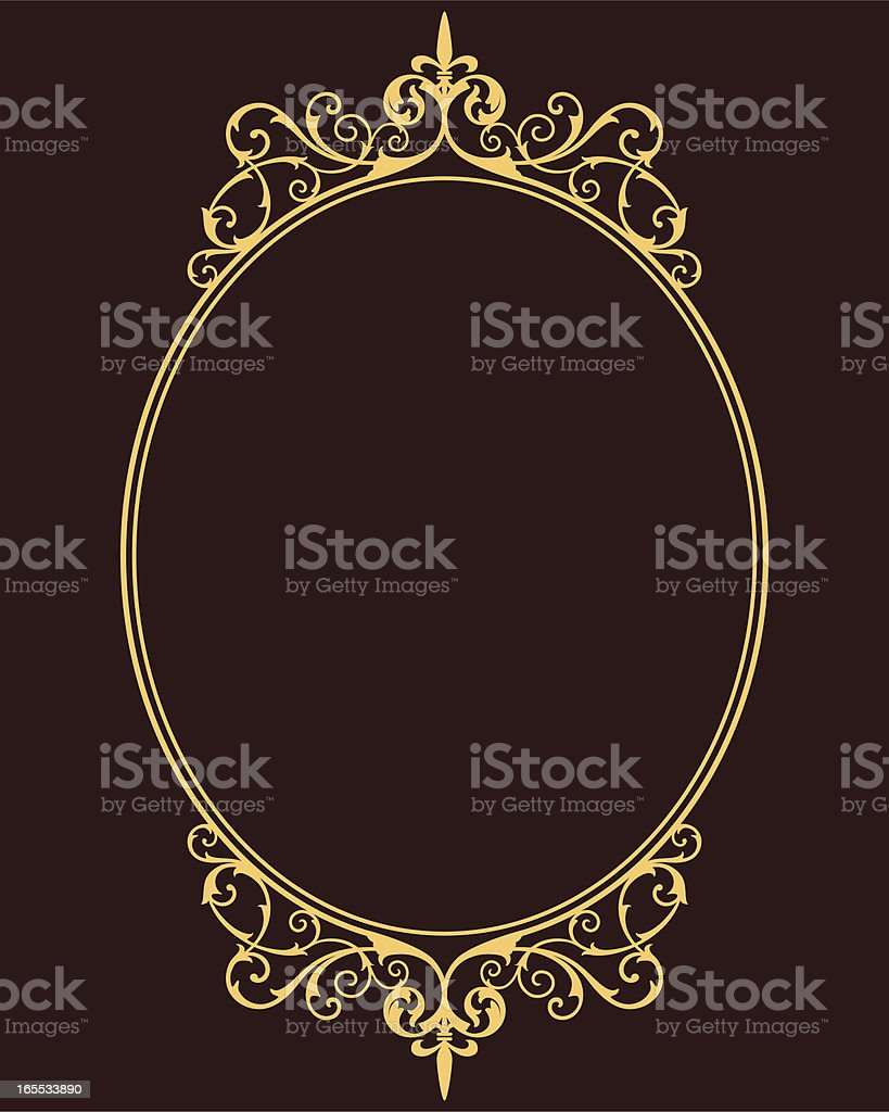 Medieval Frame vector art illustration