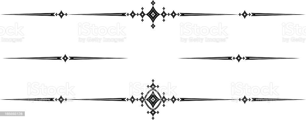 Photo To Line Art Converter Online : Medieval rule lines stock vector art istock