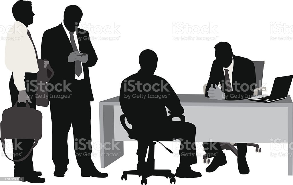 Meeting Business royalty-free stock vector art