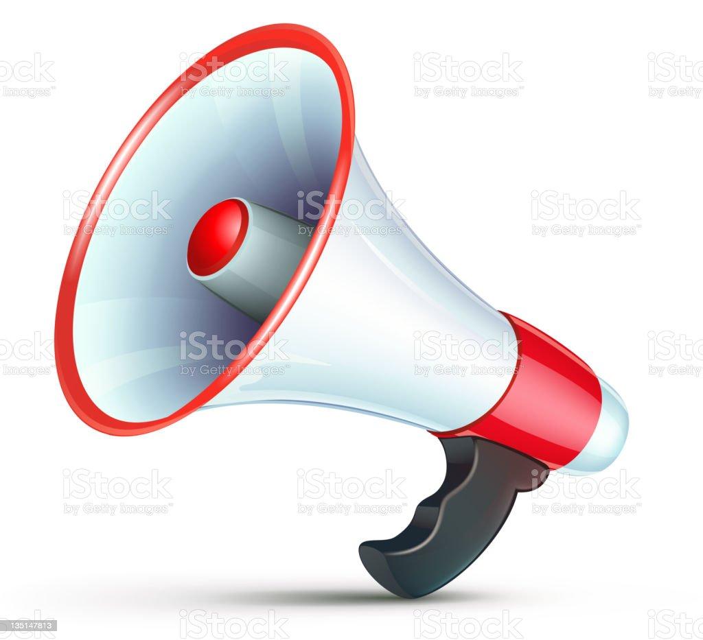 megaphone icon royalty-free stock vector art