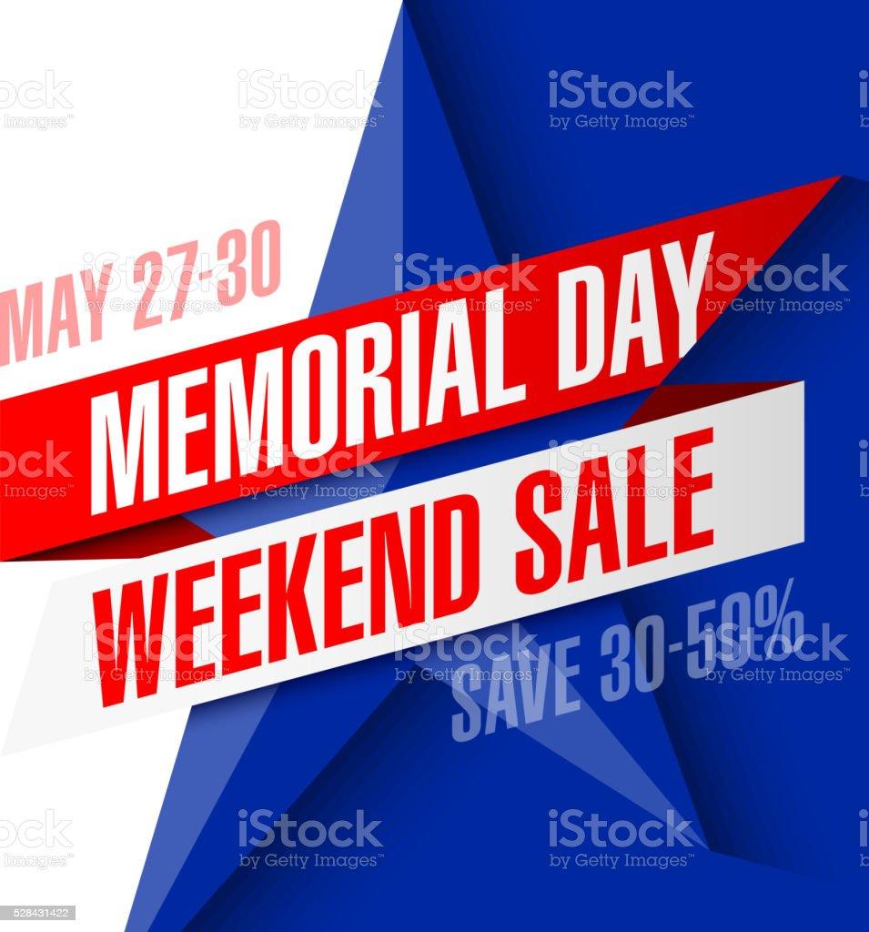 memorial day weekend  banner stock vector art 528431102  istock