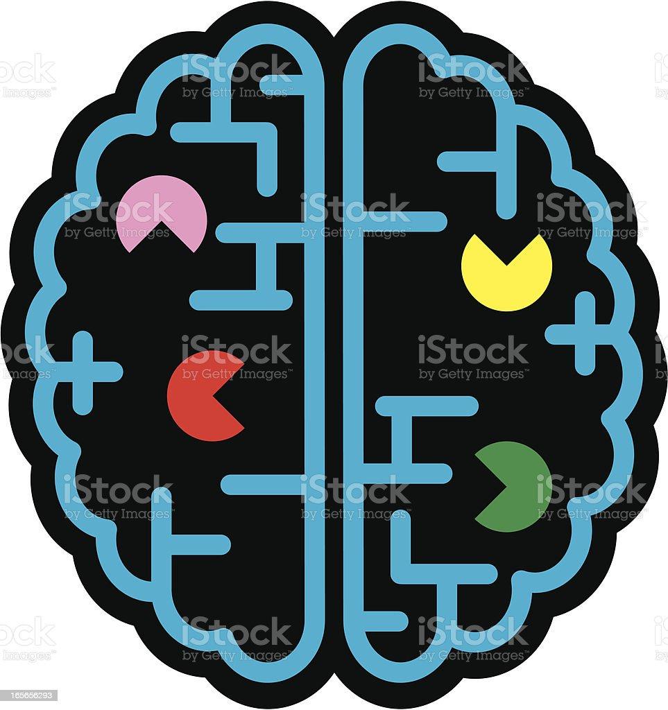 Memory loss royalty-free stock vector art