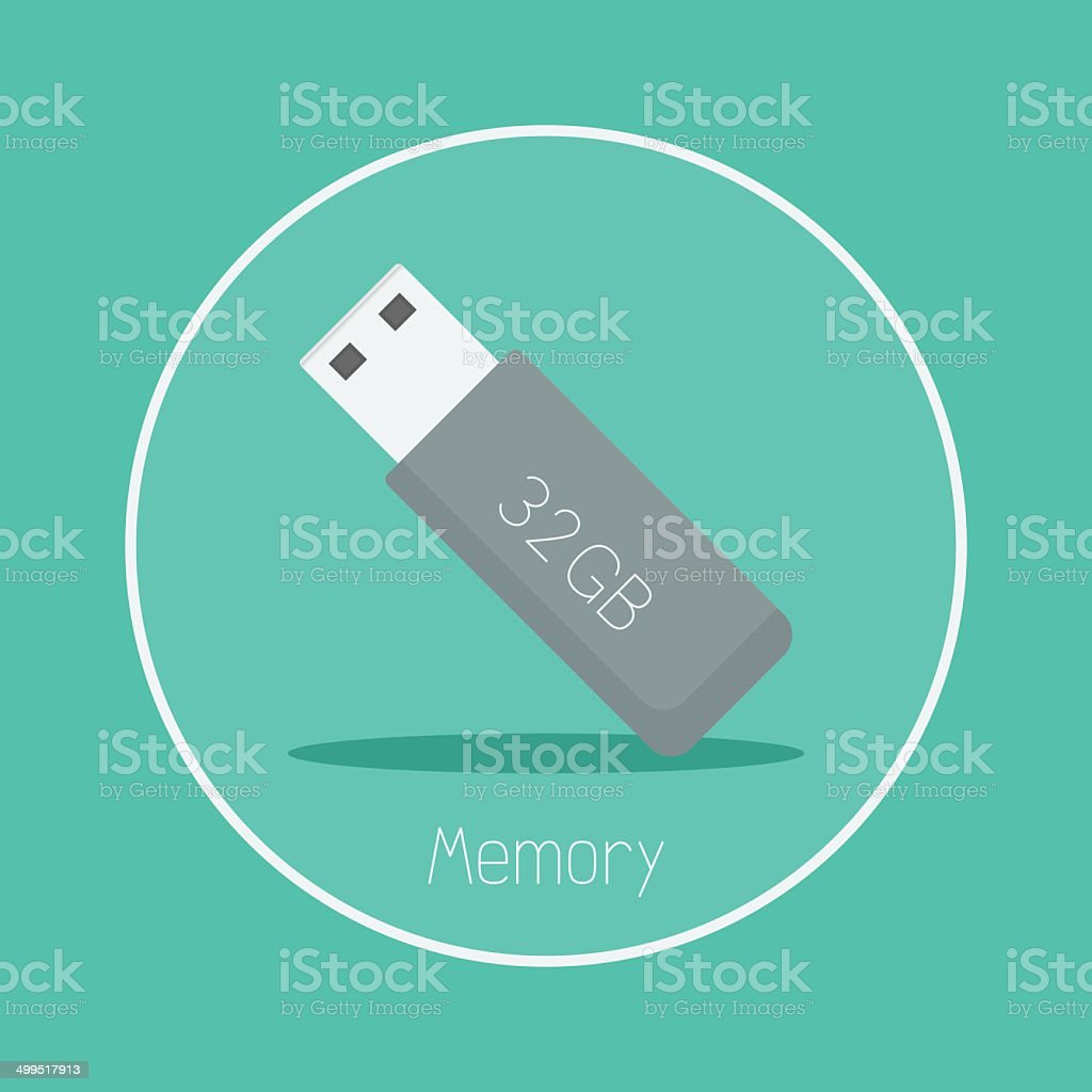 Memory vector art illustration