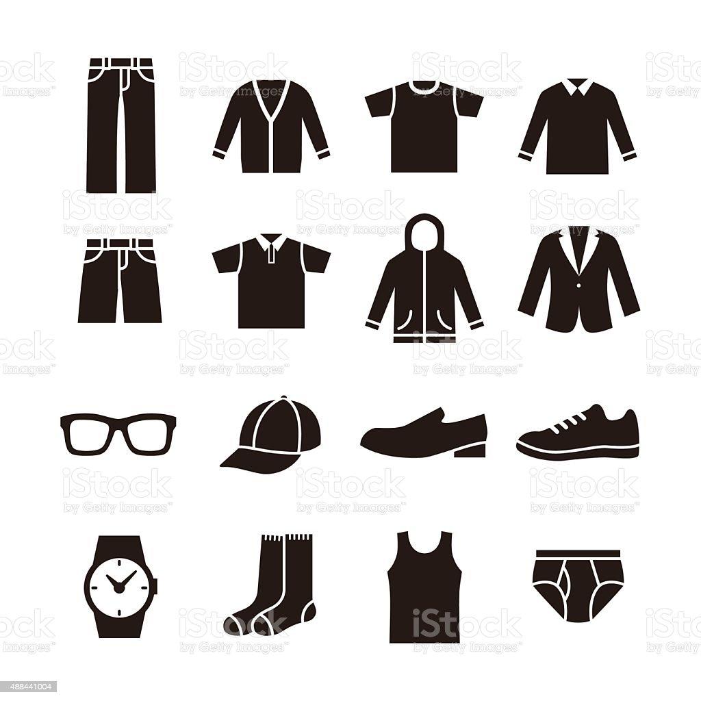 Mens Fashion Icon Stock Vector Art 488441004 Istock