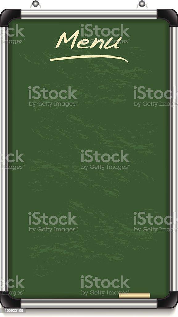 Menu Board royalty-free stock vector art