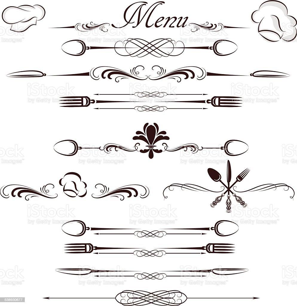 menu divider stock vector art 538930677 istock