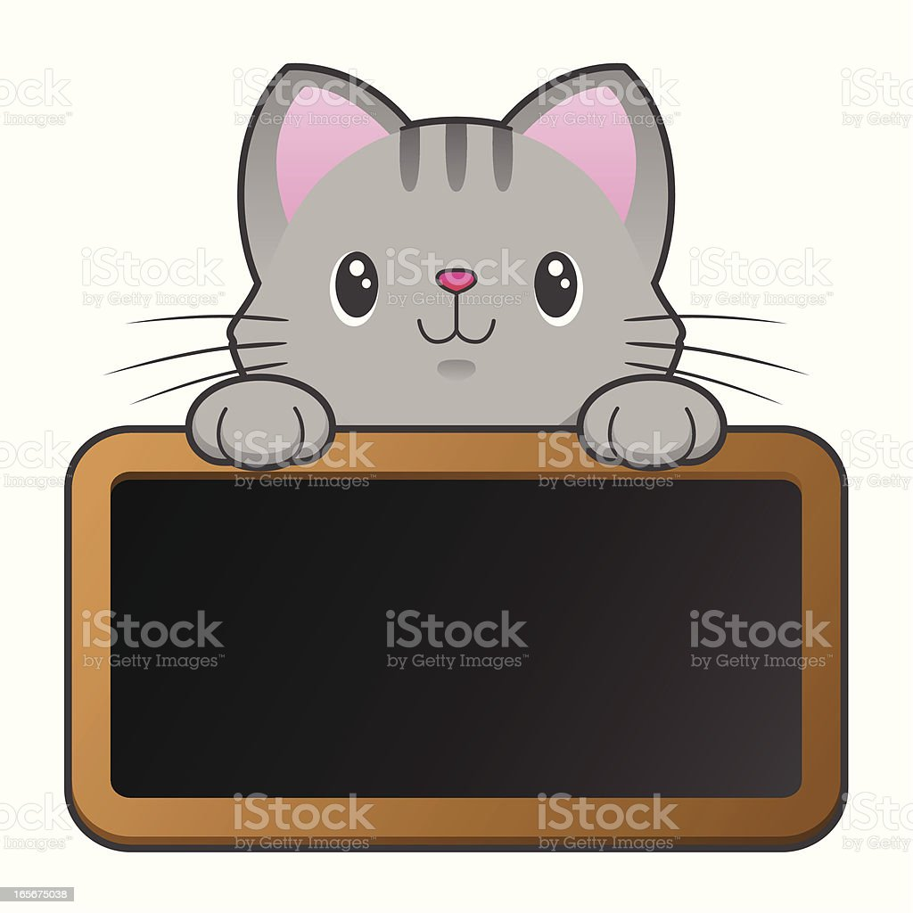 Meow vector art illustration