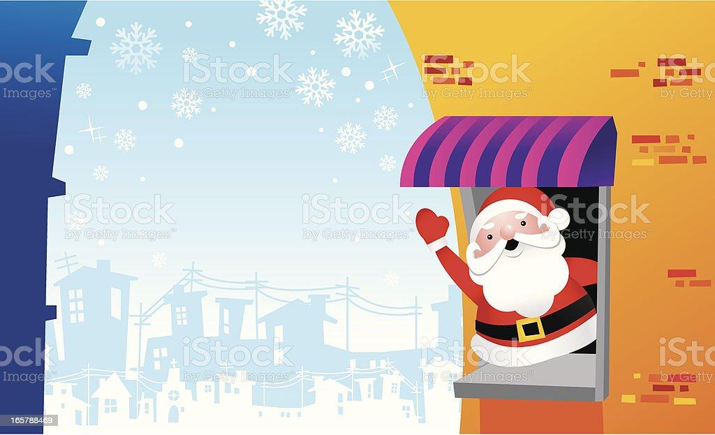 Merry Chirstmas royalty-free stock vector art