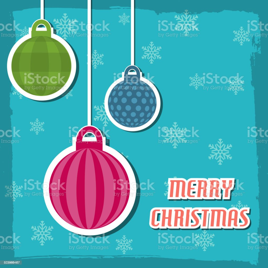 merry christmas and happy new year background cards concepts vector art illustration