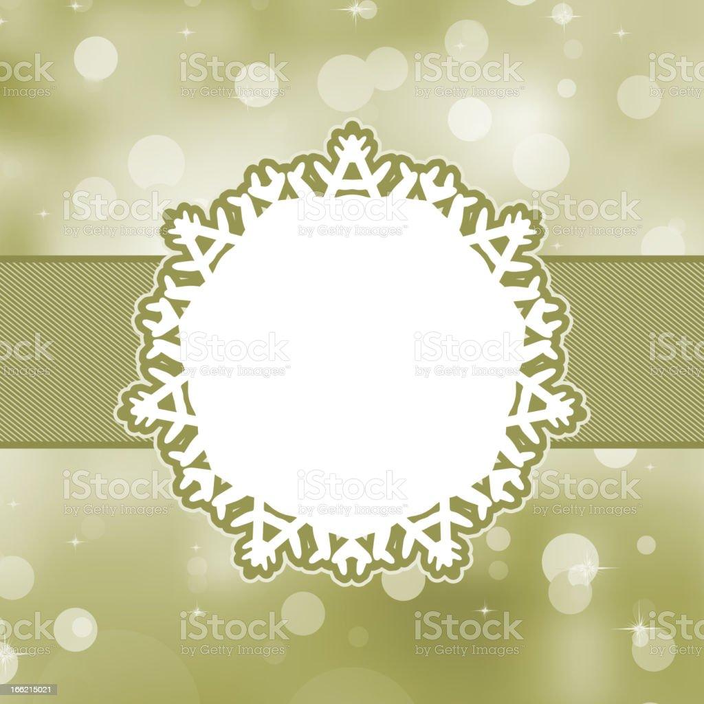 Merry Christmas Card. EPS 8 royalty-free stock vector art