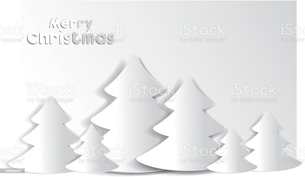 Merry christmas card royalty-free stock vector art