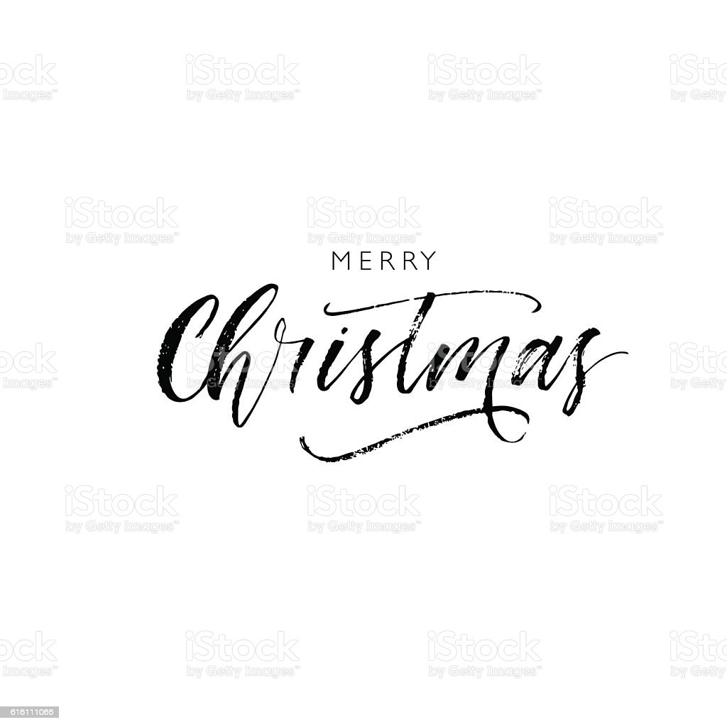 Merry Christmas card. vector art illustration