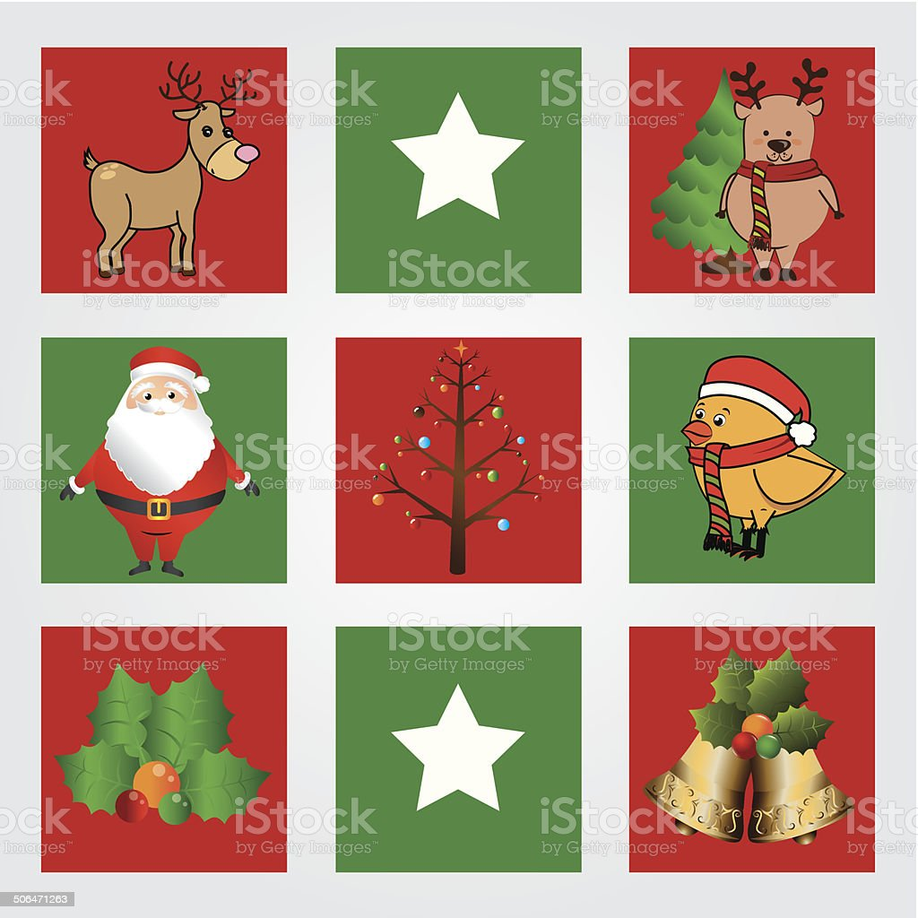 Merry christmas design royalty-free stock vector art