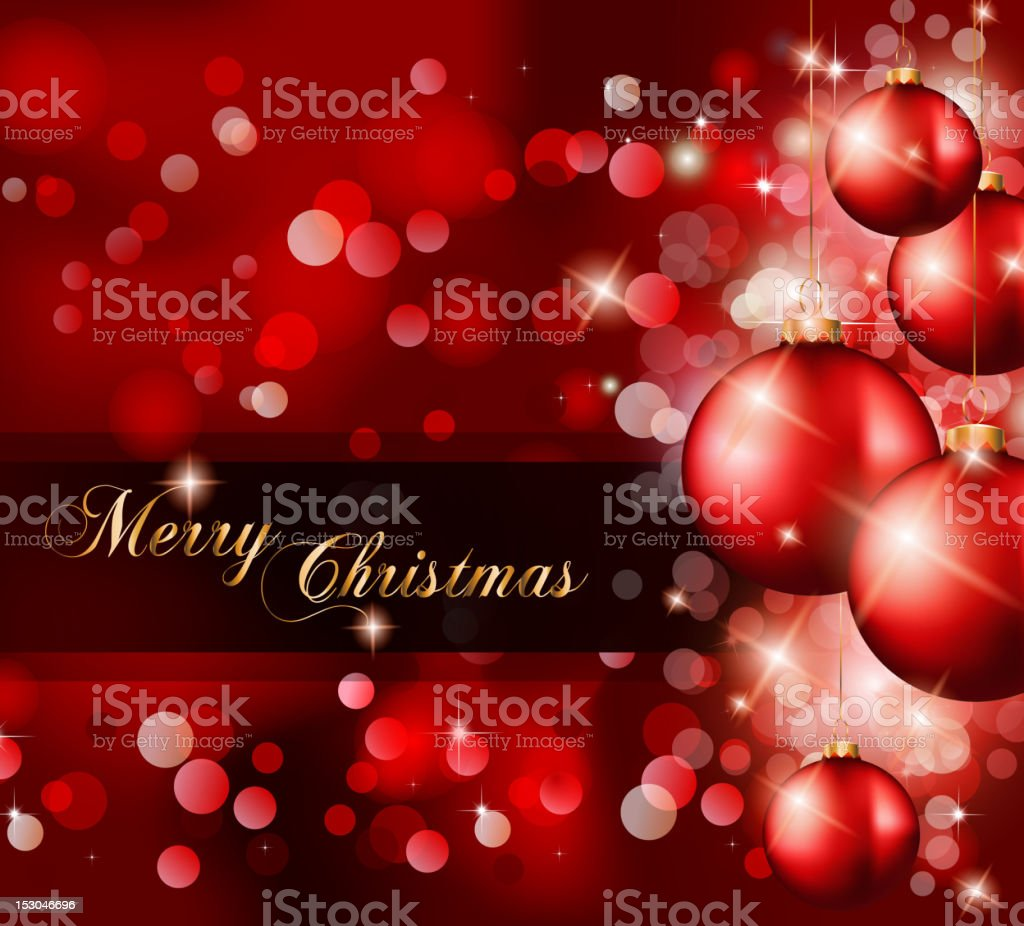Merry Christmas Elegant Suggestive Background royalty-free stock vector art