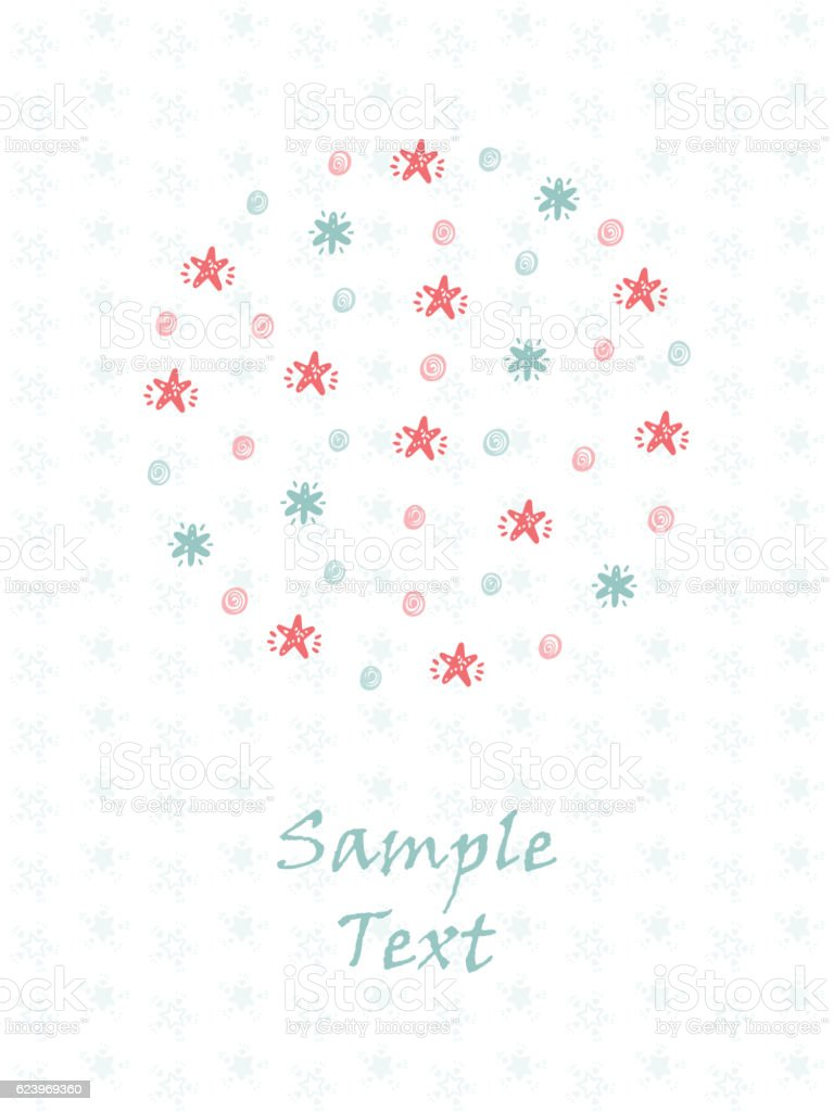 Merry Christmas Happy New Year Greeting Card Template Snow – New Year Greeting Card Template