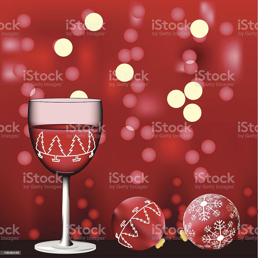 Merry Christmas, Happy New Year. royalty-free stock vector art