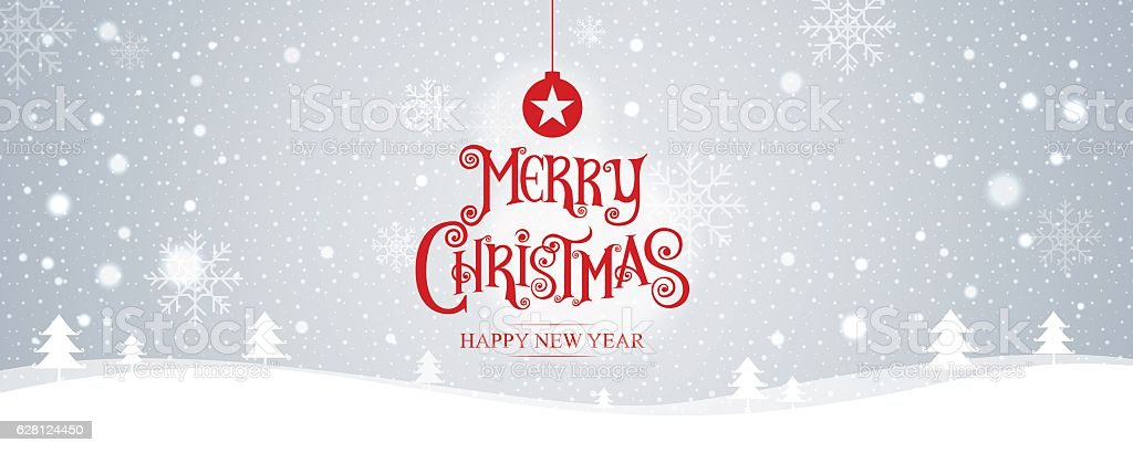 Merry Christmas. happy new year. Vector Illustration vector art illustration