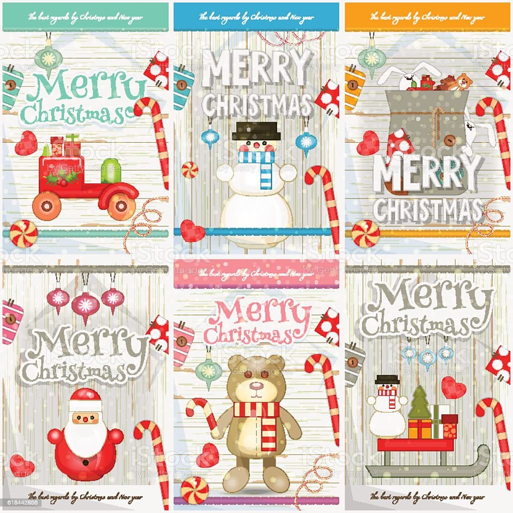 merry christmas posters stock vector art istock merry christmas posters royalty stock vector art