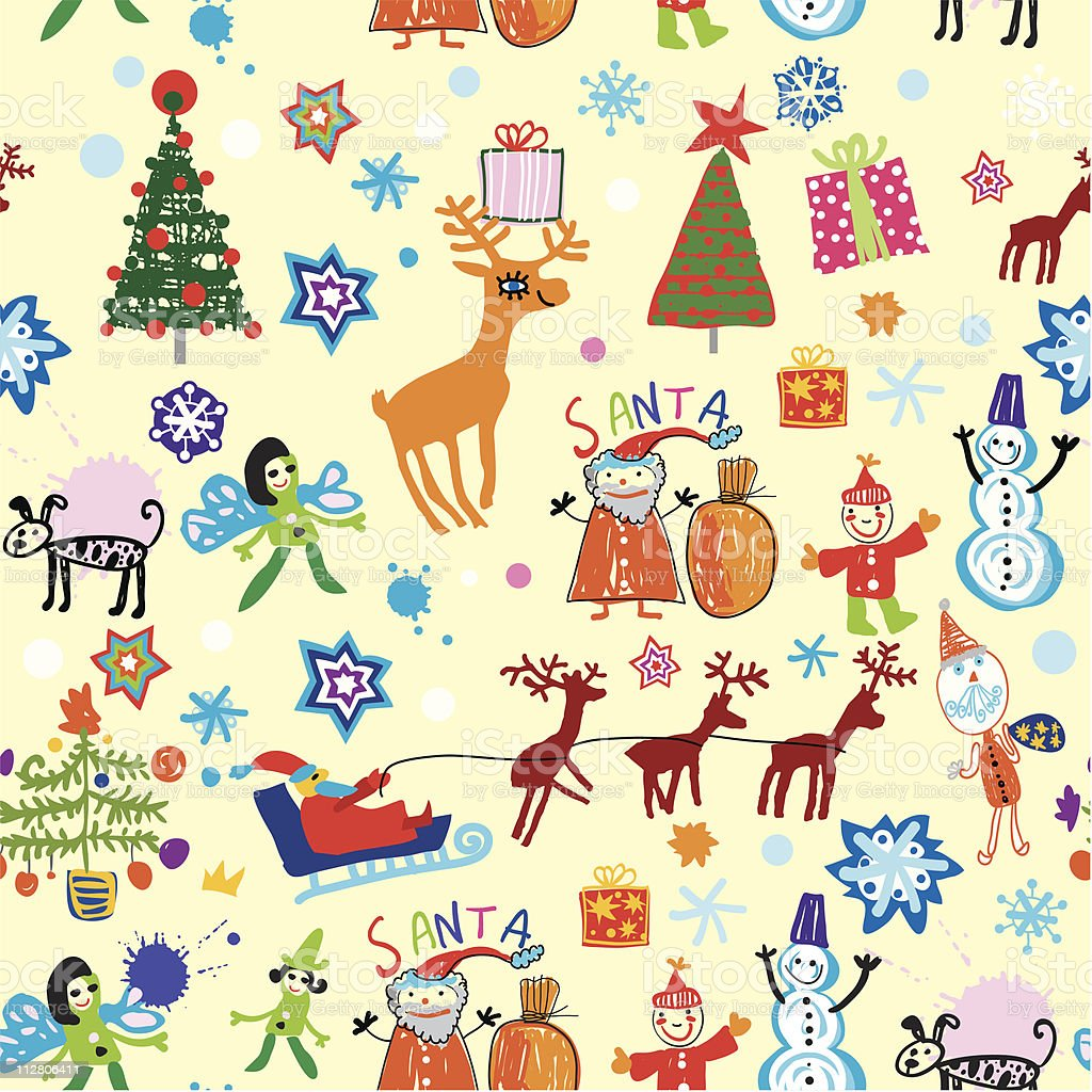 Merry Christmas! royalty-free stock vector art